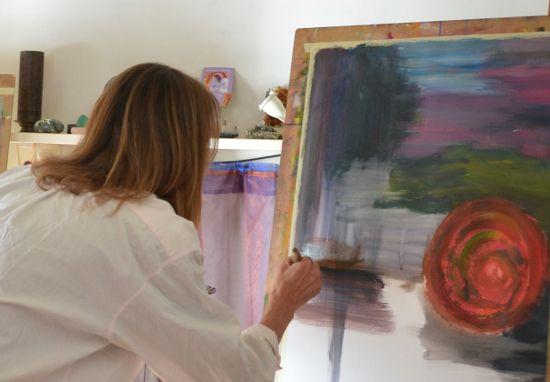 individuele sessie intuitief schilderen