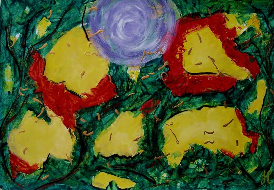 Intuitief schilderen serie van drie sessies